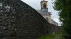 Les murailles du château médiéval de Neufchâteau, relevées récemment.