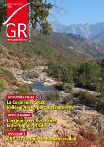 GR Sentiers n° 218 - Printemps 2018