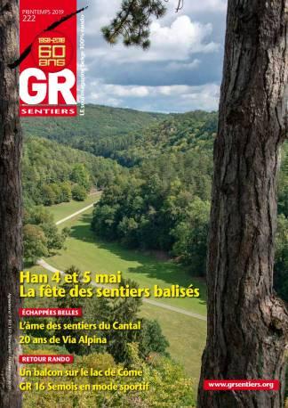 GR Sentiers n° 222 - Printemps 2019