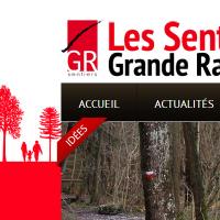 Nouveau site pour les Sentiers de Grande Randonnée!