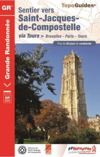 En février, préparer Saint-Jacques-de-Compostelle depuis Bruxelles...
