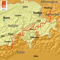 Sentier Walser – Walserweg À travers les Alpes autrichiennes et suisses