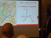 Présentation de la nouvelle édition du GR 57   « Les sentiers de l'Ourthe »