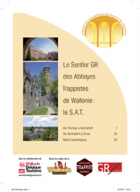 Le Sentier des Abbayes Trappistes maintenant également disponible en version papier