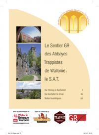 Les randonneurs français motivés par le GR® des abbayes trappistes de Wallonie