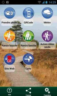 A la veille de vos vacances prés de 500 randos sur l'appli